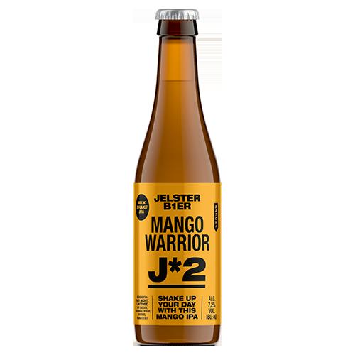 Jelster bier Mango Warrior van jouw Rotterdamse brouwer